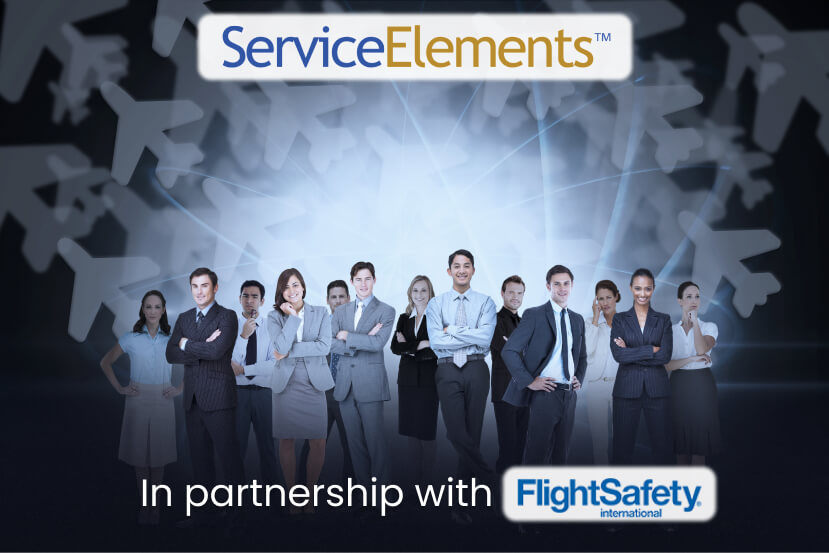 ServiceElements in partnership with FlightSafety International