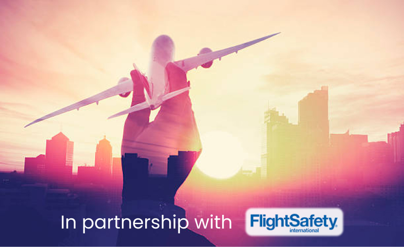 In partnership with FlightSafety